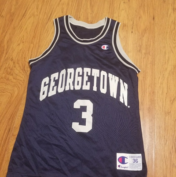 65b8c0573e0 Champion Shirts | Vintage Georgetown Hoyas Allen Iverson 3 | Poshmark